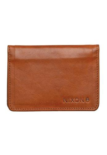 Nixon brown Nixon - Stealth Slim Bi-FoldCard Wallet NI855AC00EHNSG_1