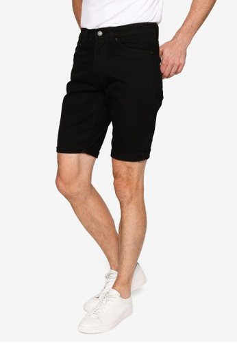 Electro Denim Lab black Denim Shorts 239EAAA4AC491AGS_1
