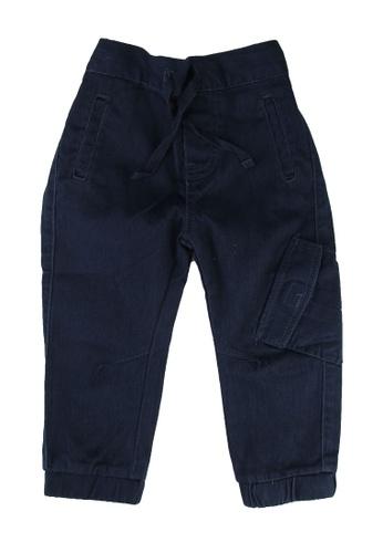 FOX Kids & Baby blue Baby Boy Utility Pants 53193KAACD3C34GS_1