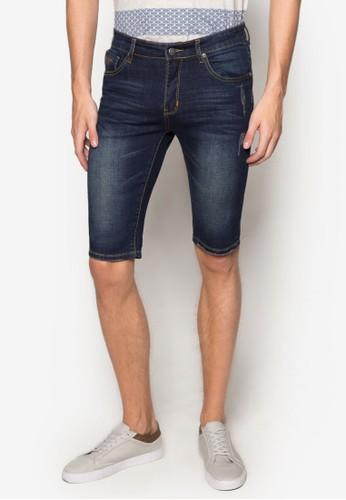 刷破esprit台灣丹寧短褲, 服飾, 長褲