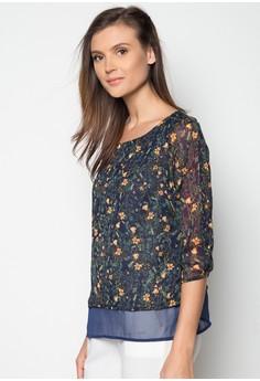 3/4 Sleeves Printed Shirt