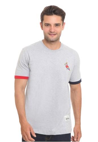 Endorse grey Endorse Tshirt E Parrot Misty Grey M - END-RI011 4E5BCAAC8F92ACGS_1