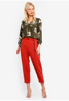 Dorothy Perkins Khaki Floral One Button Top RM 159.00. Available in several  sizes a7101f659