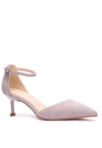 Twenty Eight Shoes 紫色 繞踝帶幼踭鞋196-1 9EE37SH69EE5FAGS_1