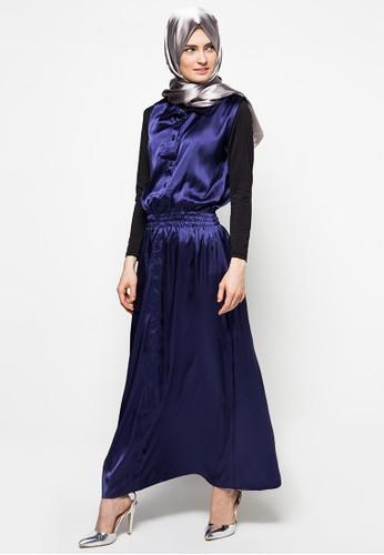 delarosa blue Diandra Casual Long Dress DE250AA79JBGID_1