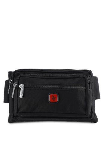 Swiss Polo black Swiss Polo Waist Bag SW912AC19PIMMY_1