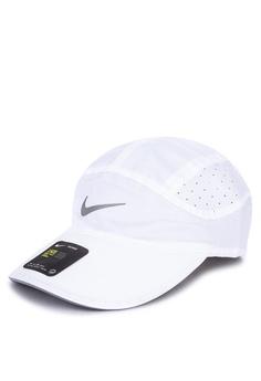 sale retailer 1bbc2 f078f Nike white Nike Aerobill Running Cap EAB57AC304EF0AGS 1