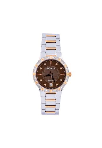 BONIA silver Jam Tangan Bonia Rosso Jam Tangan Wanita BR145-2647S Original 311A6ACADF91D6GS_1