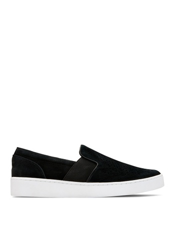 Vionic black Kani Slip-On Sneaker 9C8B7SH7EE028CGS_1