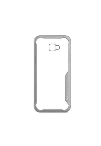 MobileHub grey Samsung J4 Plus iPaky Tech Gear Armor Case (Grey) 9C8D5AC3E31B49GS_1