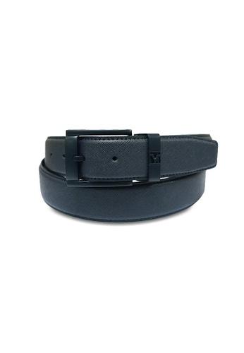Valentino Rudy blue Valentino Rudy Pin Buckle Leather Belt VA677AC40ERFSG_1