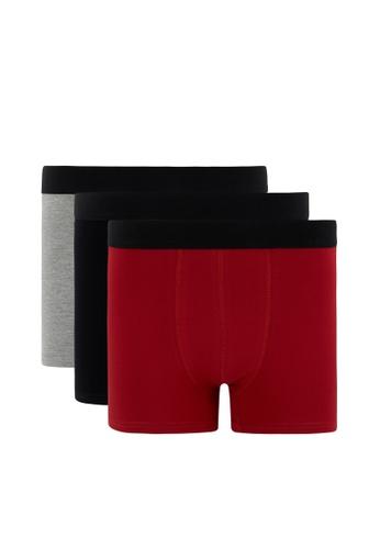 DeFacto red 3-pack Boxer B4FDAUS70F4C86GS_1