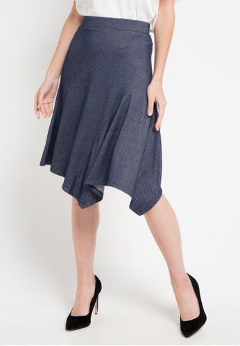 WHITEMODE navy Paityn Skirts 47BC2AAC3B6A48GS_1