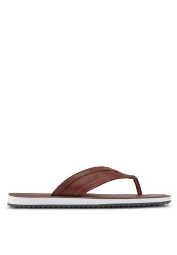 ALDO brown Clivelin Sandals 9641BSHA34285CGS_1