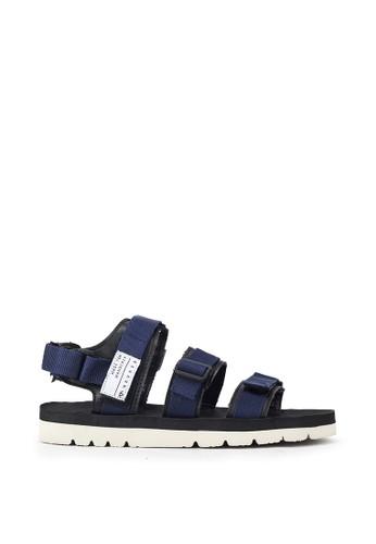 Navara blue Xavier Blue EVA Sandals F539ESHD8E1B9FGS_1