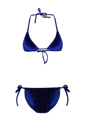 6d23ed341935f Buy PINK N  PROPER Opulence Venus Velvet Bikini Set Online