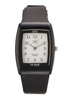 【ZALORA】 Q&Q by Citizen VP30J002Y 方框數字手錶