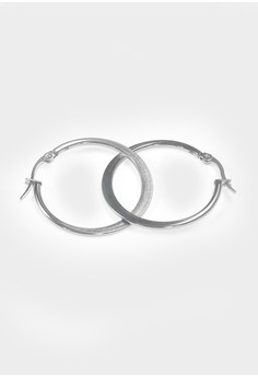 Stainless Steel Boho Hoop Earrings