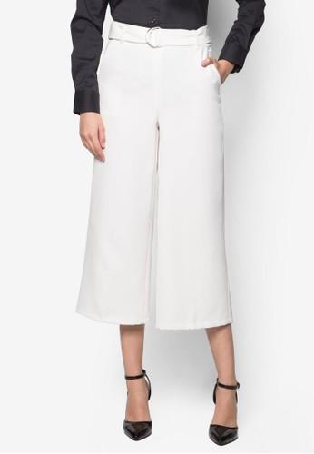 Cat D 形環寬管褲, 服飾,esprit服飾 長褲及內搭褲