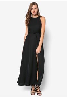 Cut In Overlay Dress