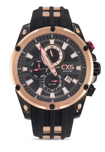 Carlo Cardini black Carlo Cardini CX5 102G-RG-4 Gents Watch CA038AC06AQJMY_1
