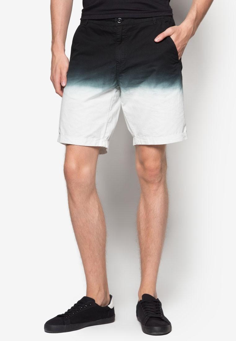 Bleached Hem Summer Shorts