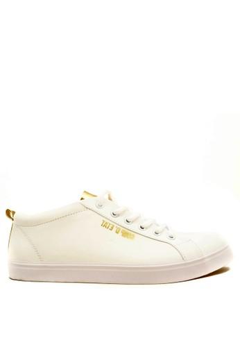 CDE white CDE Percival Women Sneaker White-Gold CD965SH91ECAID_1