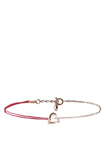 agnès b. gold 18k Rose Gold Plated Bracelet 15833AC16CD43CGS_1