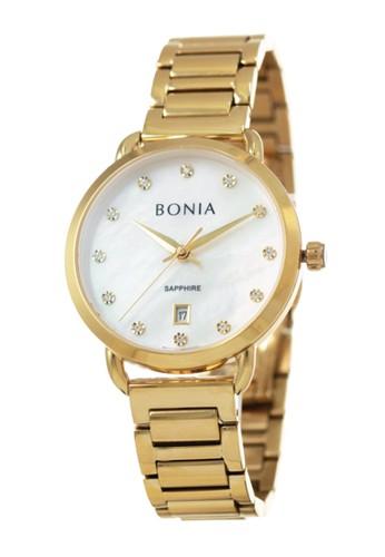 BONIA gold Jam Tangan Bonia Premium Jam Tangan Wanita BP10495-2257 Original 55B38ACE3EC12FGS_1