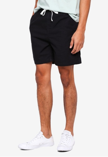 Cotton On 黑色 Easy Shorts F9BF5AA2D45A58GS_1