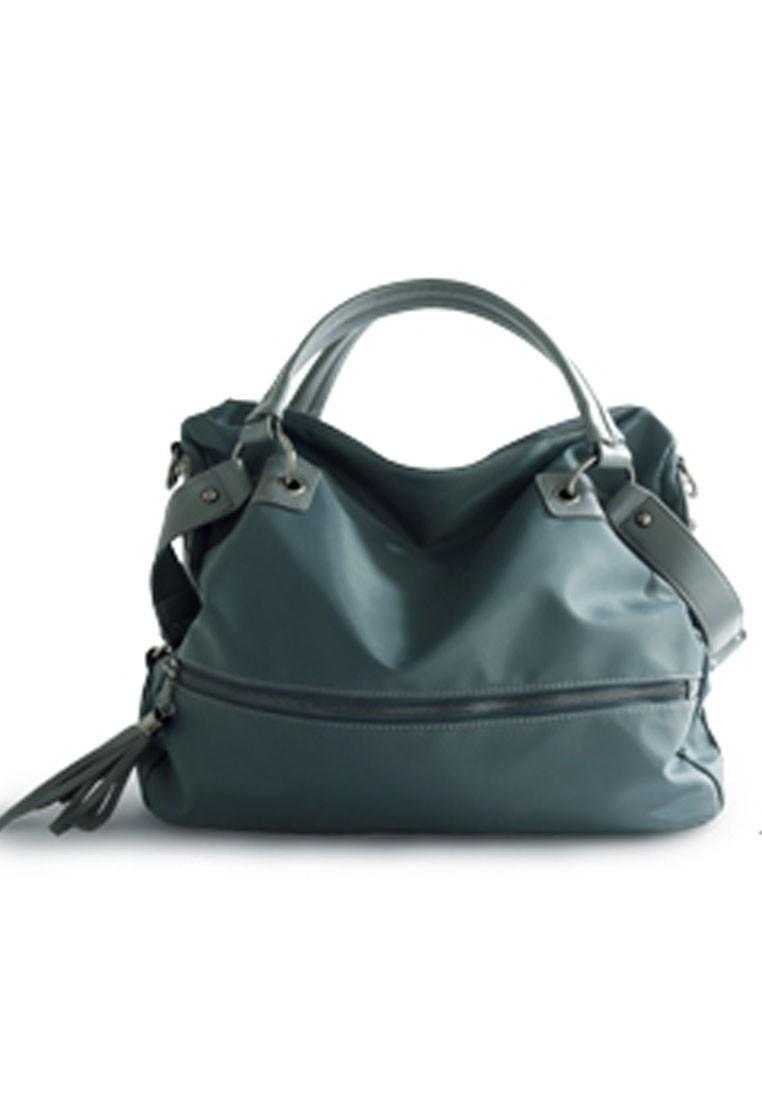 Street Chic Nylon Handbag