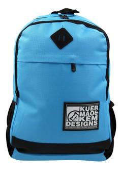 Fashionable Men's Bag - Kuer Mao and Kem Design Trendy School Backpack