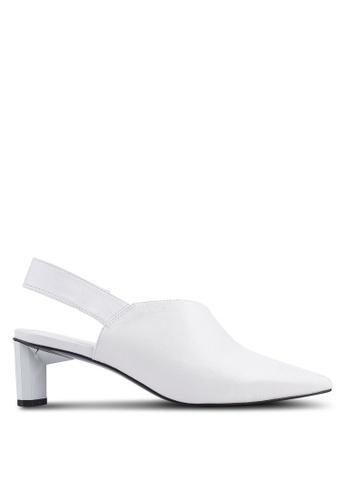 c0ada19f77 Buy Mango Slingback Leather Shoes