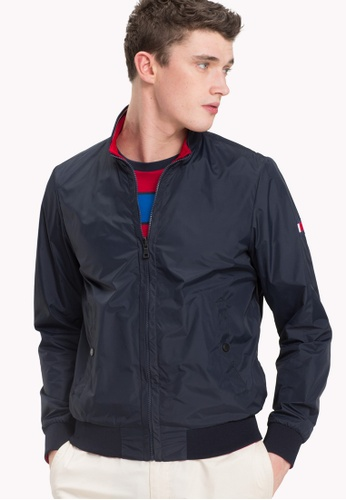 Tommy Hilfiger blue REVERSIBLE NYLON BOMBER 1CC37AAF7BC074GS_1