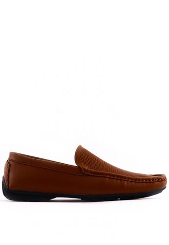 7soles brown Fabio MS Smart Casual Shoes 7S266SH0JRAVPH_1