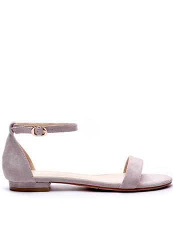 Twenty Eight Shoes 平底橫帶涼鞋6848-18 67463SH908DF6CGS_1