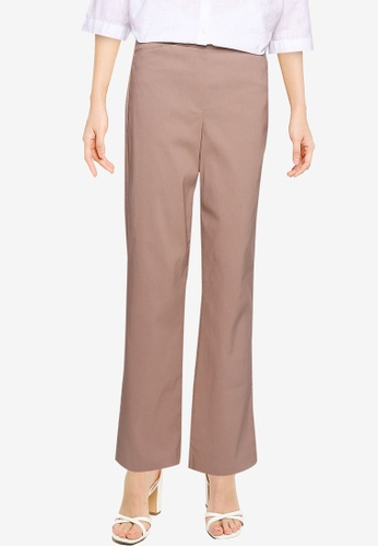 LC WAIKIKI beige Elastic Waist Regular Trousers 2BBF2AA0B5FE09GS_1