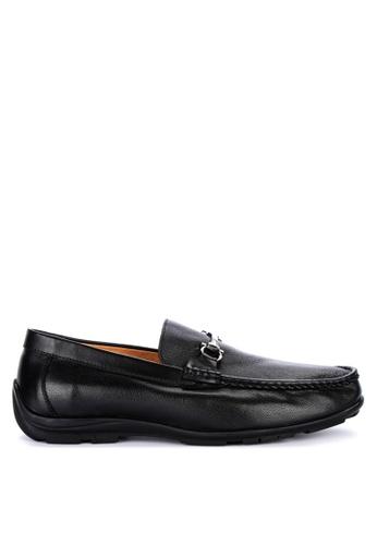 Gibi black Nom 034 Slip-On Shoes 976B4SH0EAE965GS_1