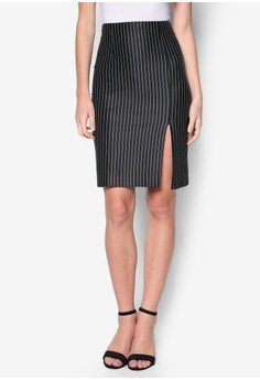 Collection Pencil Skirt With Side Slit