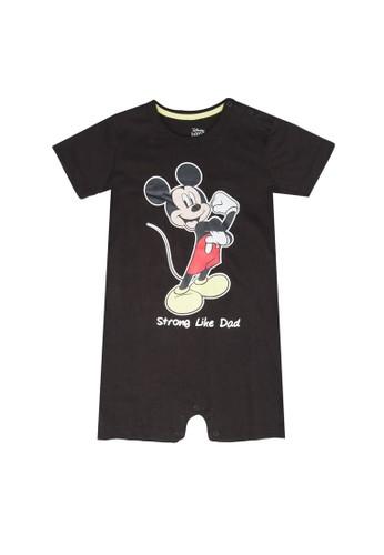 FOX Kids & Baby grey Graphic Onesie 8A001KA1EC5EA5GS_1