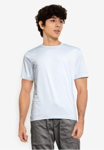Abercrombie & Fitch 藍色 Air針織圓領T恤 06F34AA940DA9BGS_1
