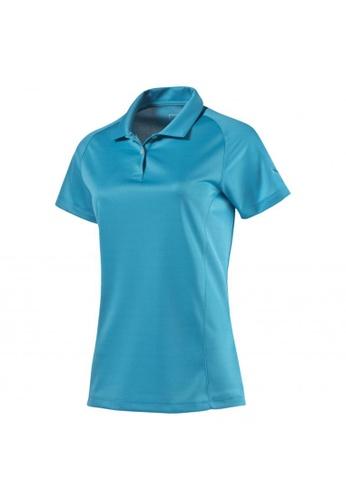 puma blue Women's Essential Golf Polo 101EAAA0F75B60GS_1