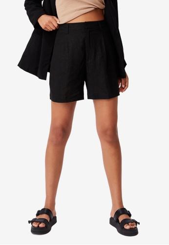 Cotton On black Ultimate Smart Shorts 880C4AACF5E5A0GS_1