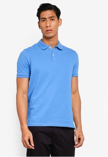 OVS 藍色 Basic POLO衫 C8AACAAEC344B2GS_1