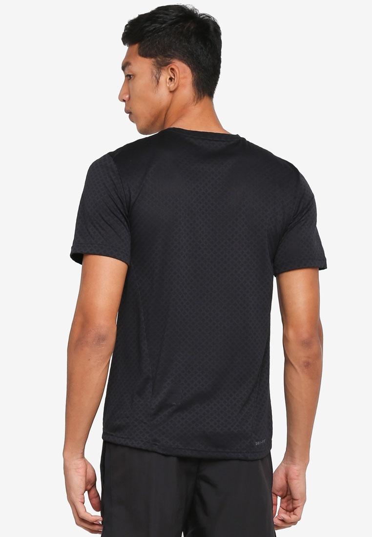 Shirt Training T Hematite Metallic Black Breathe Nike Nike qtHxpZww