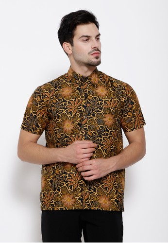 Batik Etniq Craft brown Ryan Hem Batik BR F526DAA4B4543AGS_1