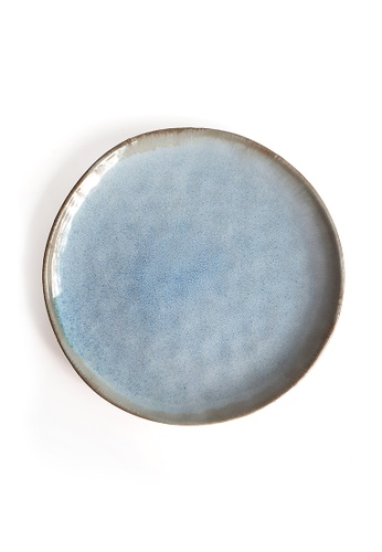 Your Lagom blue and purple Ripples Large Plate 7E00FHLF28F052GS_1