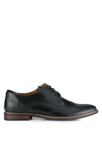 Call It Spring black Bollate Derby Shoes CA512SH0SFDGMY_1