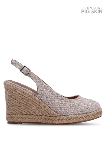 best shoes online here first look Buy VANESSA WU Slingback Espadrilles Wedges Online on ZALORA Singapore