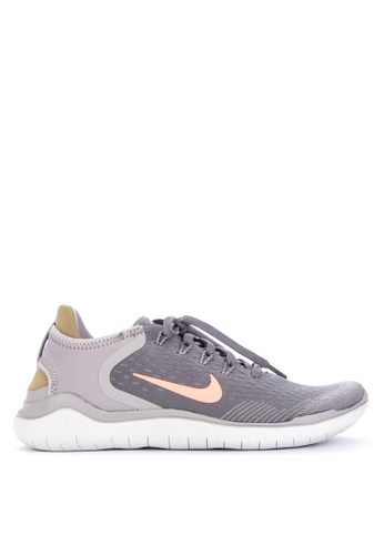 Nike black and grey Women's Nike Free RN 2018 Running Shoes 54A35SH2662C8CGS_1